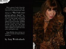 Anna Wintour by Amy Weidenbach