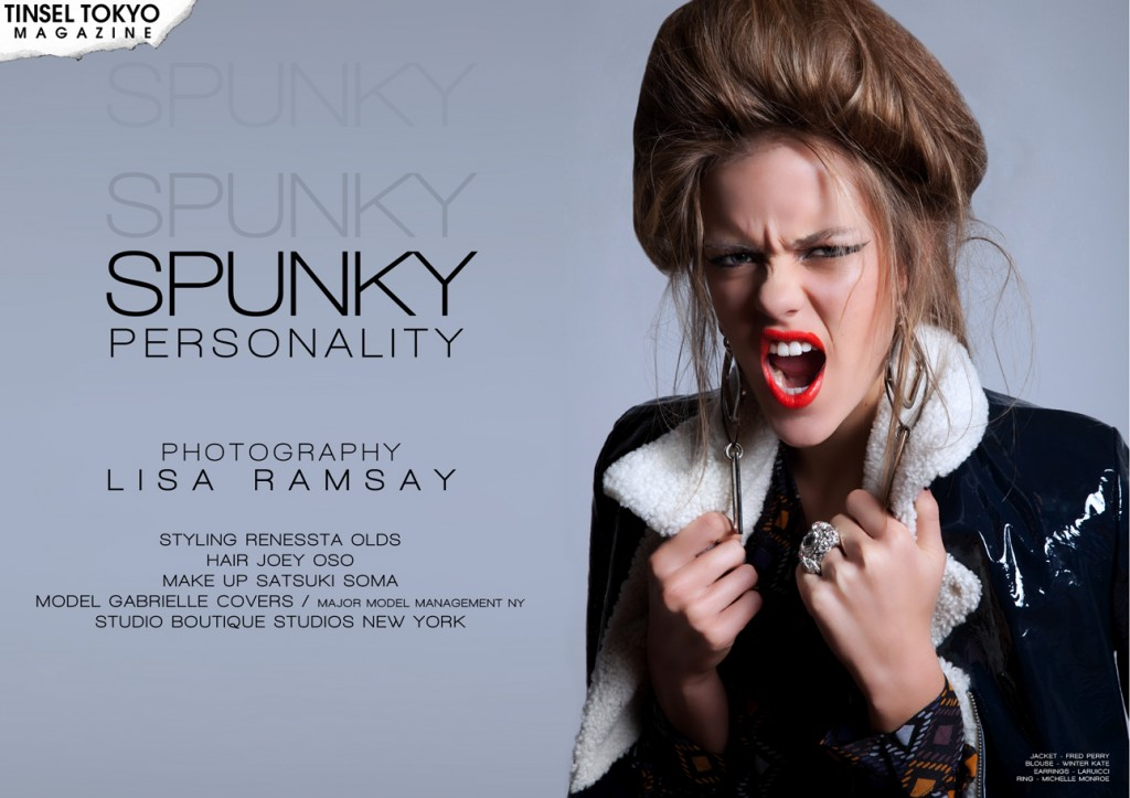 Spunky Personality photography by Lisa Ramsay